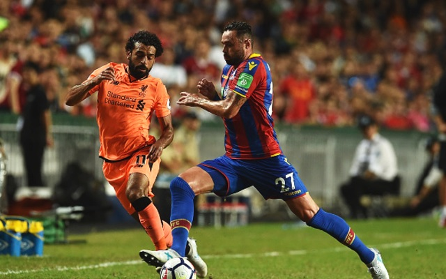 (Video) Liverpool 2-0 Crystal Palace highlights: Salah rapid, Solanke clinical