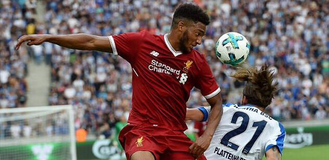 Joe Gomez likes post slamming Lovren; Says he wants Dejan's CB role in Klopp's XI