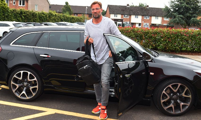 Jurgen Klopp treated to special surprise on his first day back at Melwood