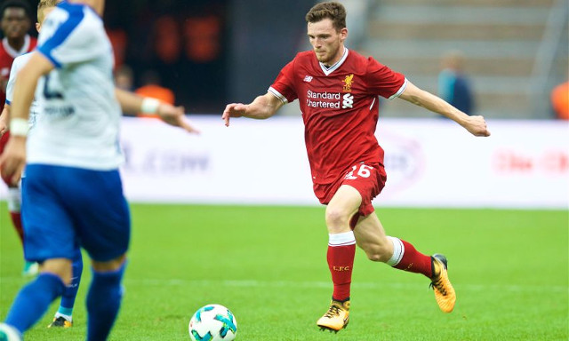 Klopp: Why I'm not playing £10m Robertson