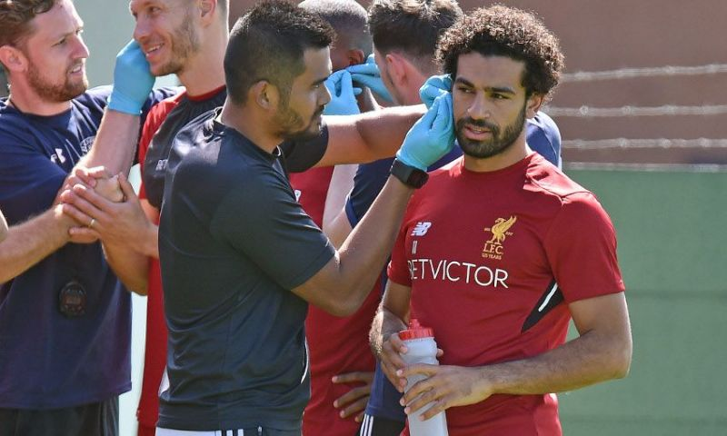 Why Mo Salah has made odd trip to France & won't play tonight