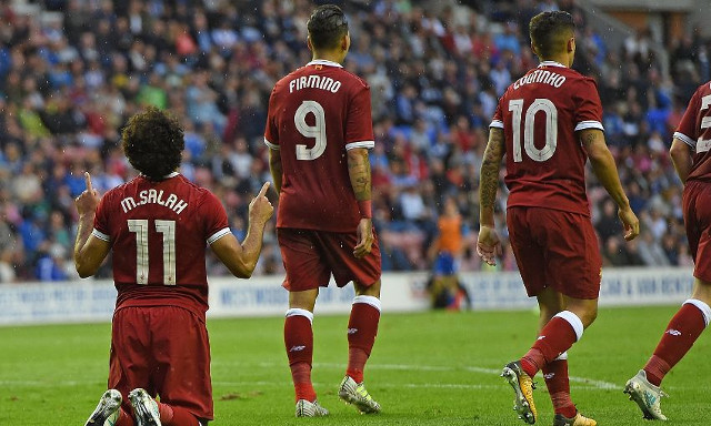 (Video) Salah scores excellent lobbed goal after Coutinho's stunning assist