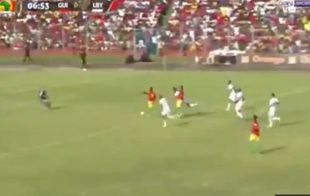 (Video) Naby Keita just scored a world-class goal for Guinea after £55m LFC deal