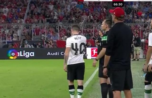 (Video) Ryan Kent ruins Bayern fullback; Goal somehow ruled out
