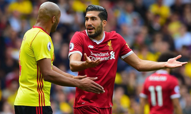 (Video) Emre Can's outrageous touch goes viral; Reds in awe of the German