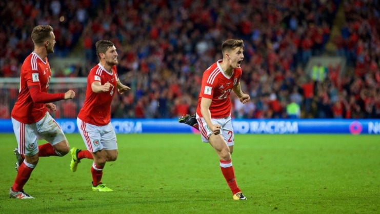 (Video) Woodburn's Wales Worldy: Ben breaks internet with 20-yard debut stunner