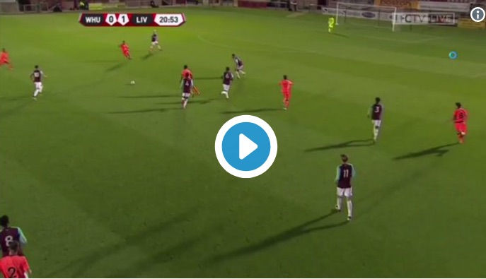 (Video) Harry Wilson bags super-double as LFC go three clear at top