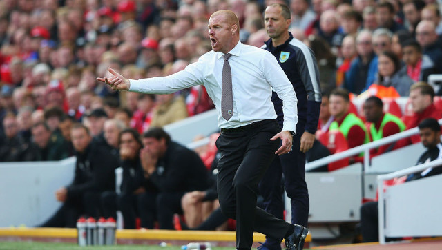 Outrageous: Dyche labels Liverpool 'cheats' & says Gomez leg-break tackle 'fantastic'