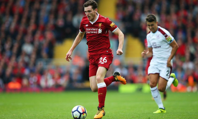 'The beauty of playing for LFC'- Robertson puts positive spin on hectic schedule