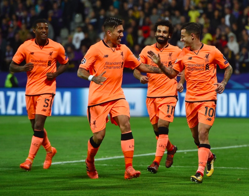 Twitter explodes after LFC's incredible 1st-half rout v Maribor