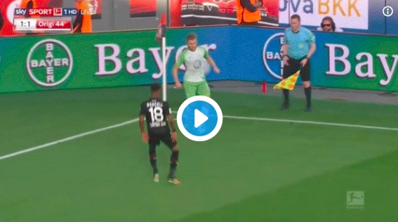 (Video) Origi scores pure no.9 goal for Wolfsburg ⚽️
