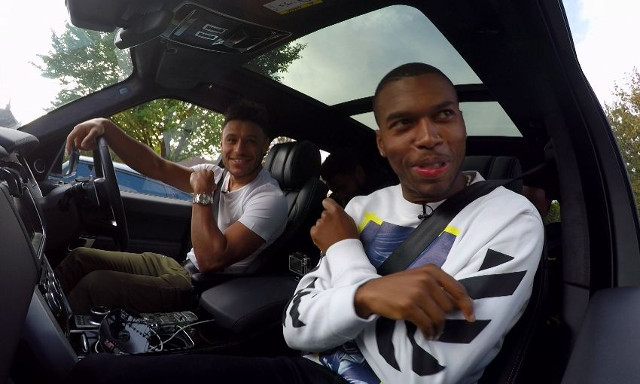 (Video) Oxlade-Chamberlain, Sturridge, Gomez and Clyne in hilarious LFC Carpool