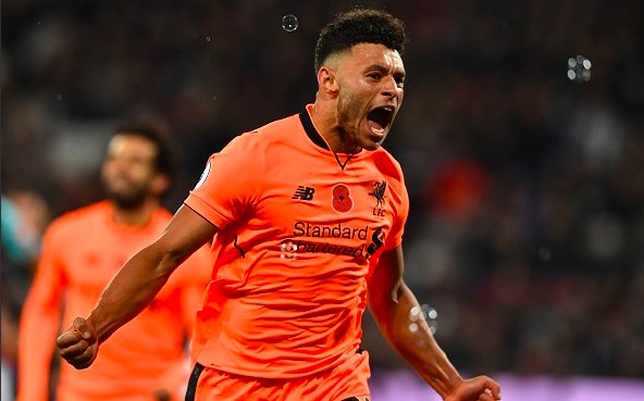 (Video) New Oxlade-Chamberlain song goes viral as LFC star bags first league goal