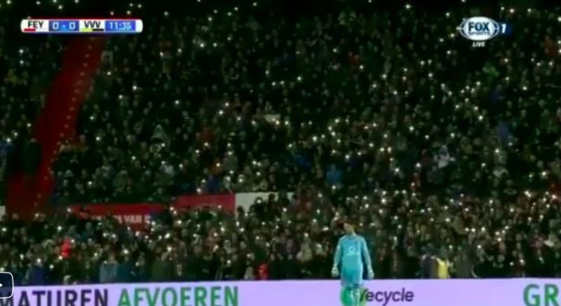 Something beautiful happened to Brad Jones at Feyenoord yesterday