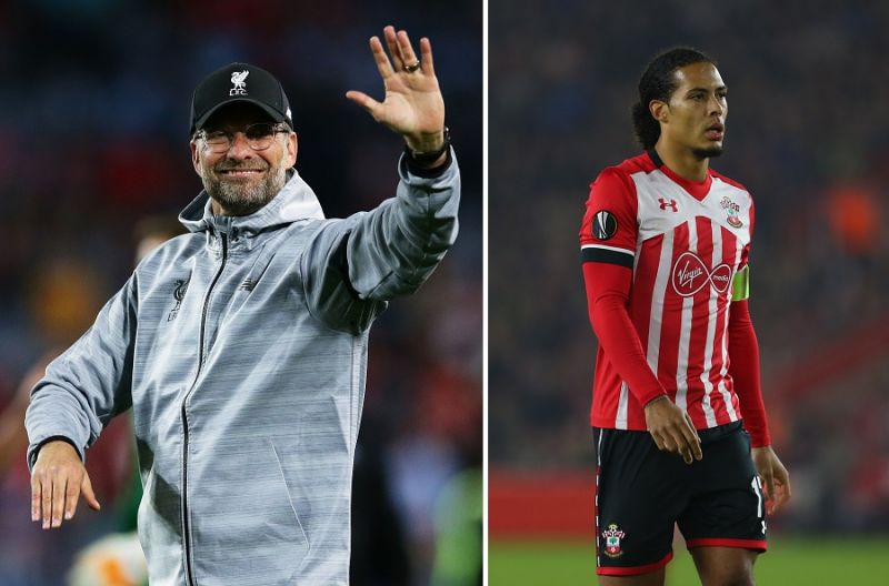 Klopp gives intriguing answer to Van Dijk question…