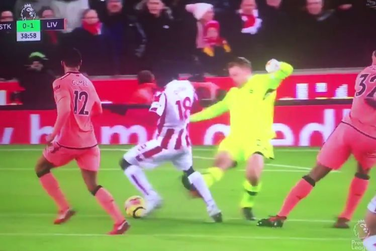 Ruthless Mignolet admits he fouled Diouf on purpose
