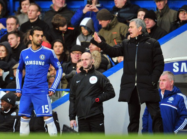 Hazard slams Mourinho for not playing 'fantastic' Mo Salah at Chelsea