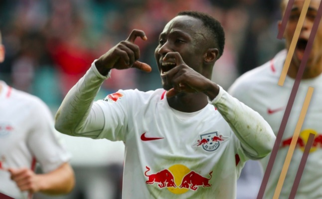(Video) Naby Keita bags world-class goal as future LFC team-mates run riot
