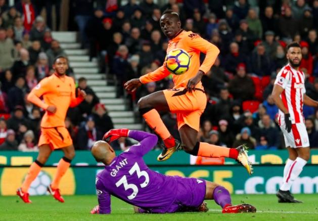 Watch Sadio Mane goal, as Solanke assists v Stoke on full PL debut