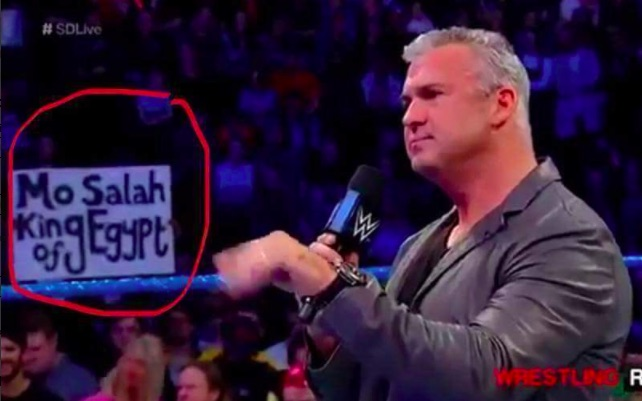Vince McMahon demanded 'Mo Salah: King of Egypt' banner was removed