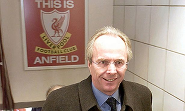 Sven: I want to manage Liverpool