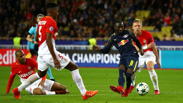 (Video) Naby Keita's lovely Champions League performance v Monaco