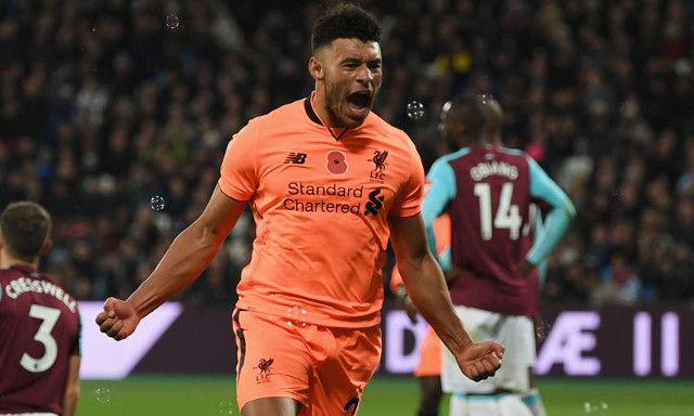 Oxlade-Chamberlain reveals Klopp's intriguing team selection clue