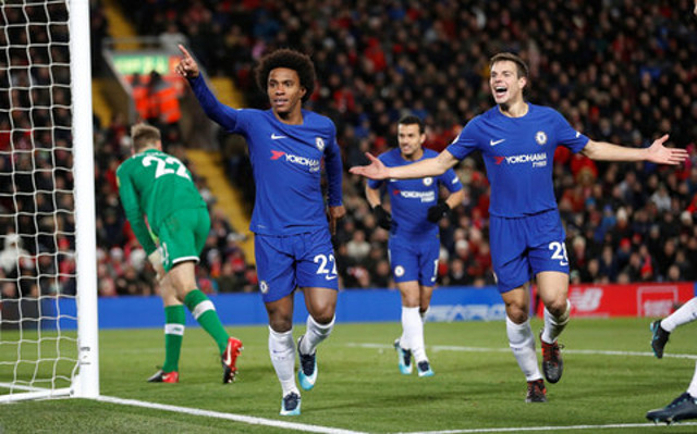 Ian Doyle clears up Willian to Liverpool rumours