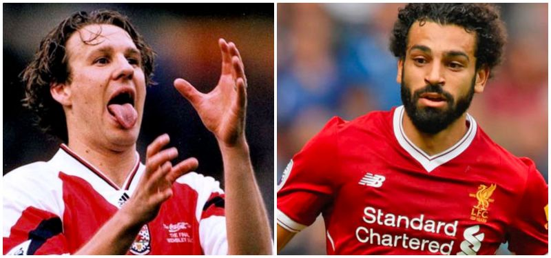 Paul Merson has apologised to Mo Salah before Arsenal v Liverpool