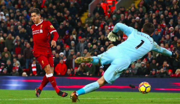'Mad B*stard' Firmino does 'No Look Finish' again… And LFC fans absolutely love it