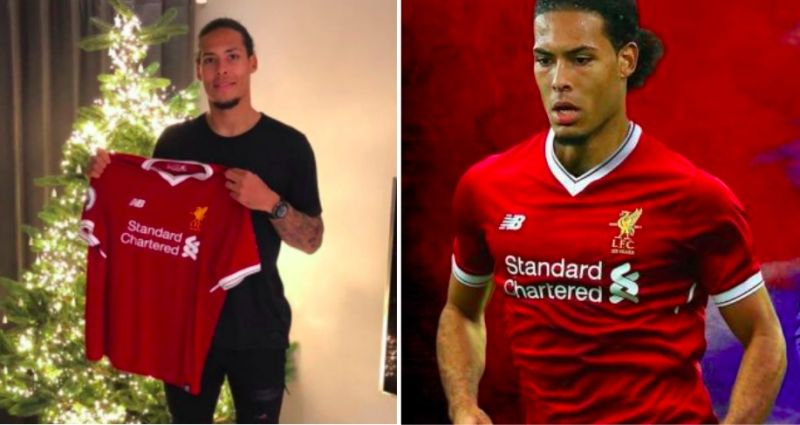Official: LFC give Virgil van Dijk iconic squad number