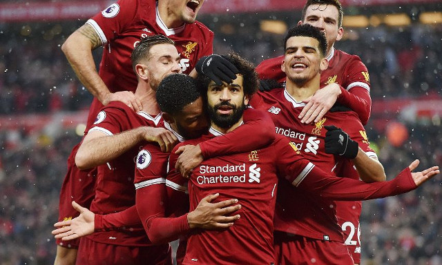 Mo Salah jumps on Twitter and rubbishes 'false' exit rumours to LFC's delight