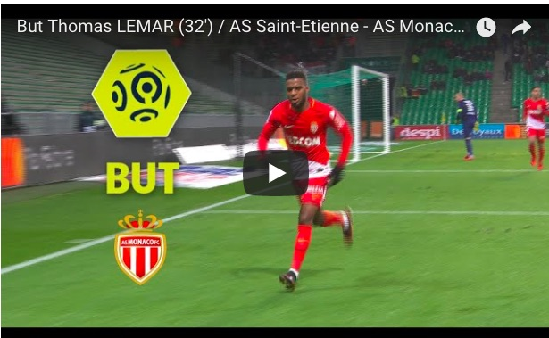 (Video) Thomas Lemar's last Monaco goal proves how special he is…