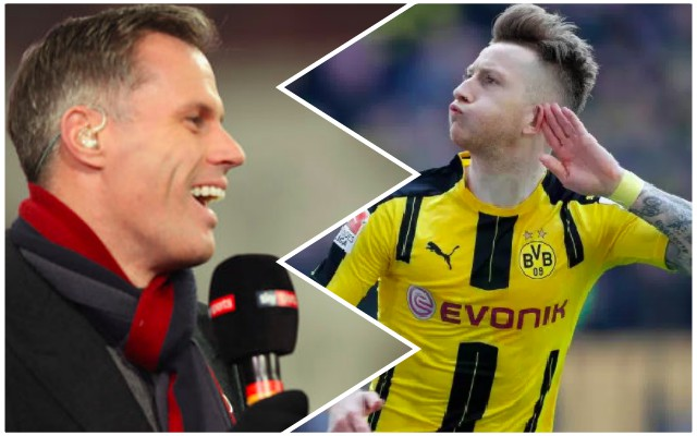 Carra winds LFC fans up with Marco Reus transfer spoof..