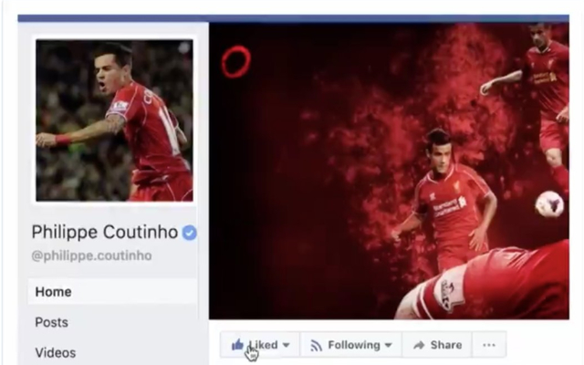 Eagle-eyed LFC fans spot something strange in Coutinho announcement video