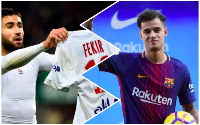 Lyon given Nabil Fekir warning that mirrors Coutinho's Barca move