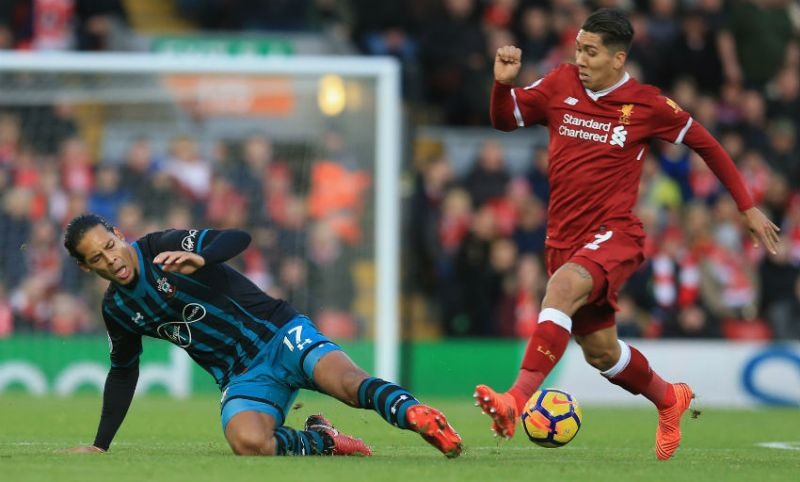 Firmino explains how brilliant Van Dijk is after first training sessions