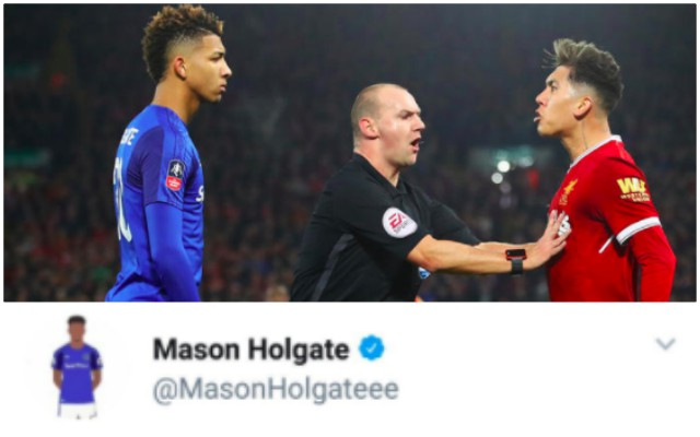Mason Holgate facing ban for homophobia after Firmino 'racism' accusation