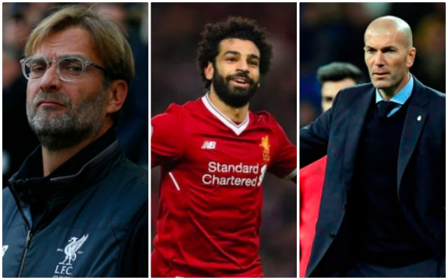 Salah skips round Real Madrid question but admires La Liga..
