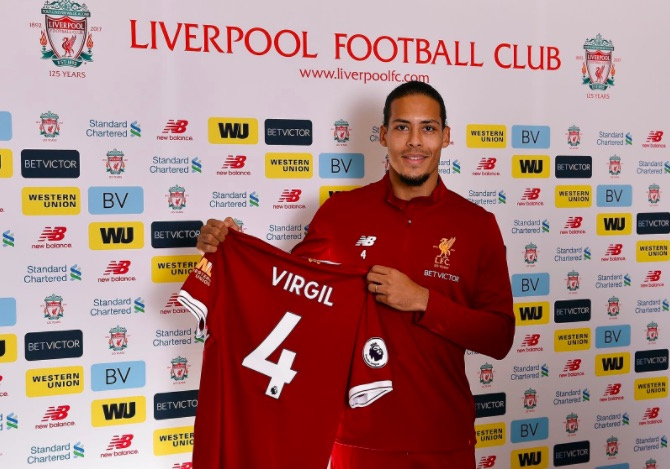 Van Dijk speaks about his first Anfield experience following viral clip