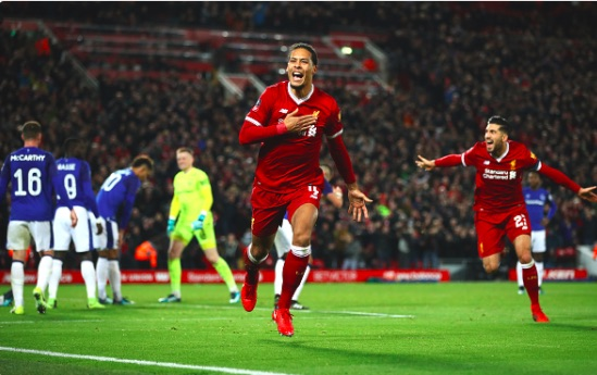 LFC legend makes incredible Virgil van Dijk comparison