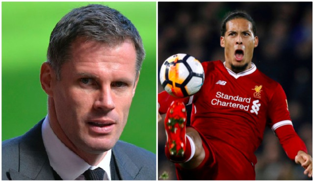 Van Dijk calls out Carra: Come see me in the dressing room…
