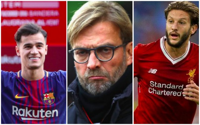 Klopp: Why I didn't replace Coutinho; Which player we'll use instead