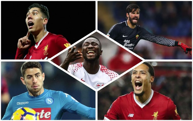 LFC's potential 18/19 XI if Klopp nails top targets; Incredible Brazilian spine