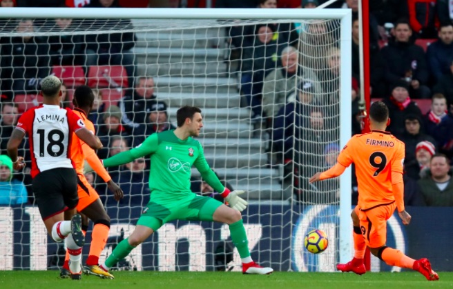 (Video) Firmino goal v Southampton: Bobby bags after fantastic counter