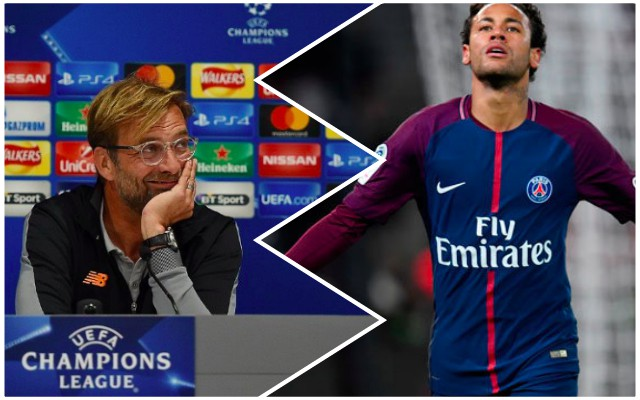 Klopp launches stern defence of Neymar before PSG tie