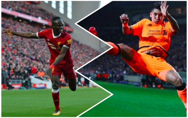 (Video) Sadio Mane tried to copy Firmino's kung-fu celebration and it's hilarious