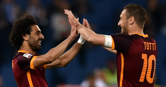 Totti has given a superb interview about Mo Salah: 'He made the right decision'