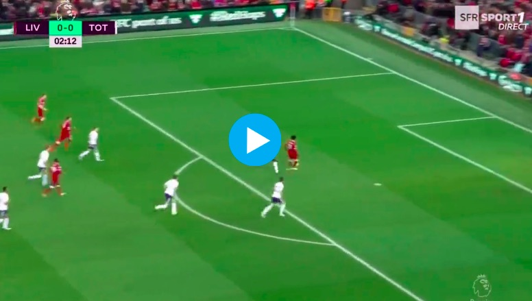 (Video) Salah shows great composure with 2nd minute goal
