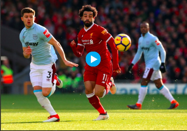 Watch Mo Salah's record-breaking left-footed goal v West Ham